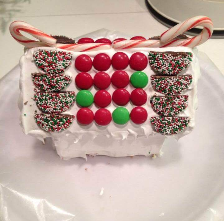 Jeff Tobin's Gingerbread House (Used shamelessly without permission.)