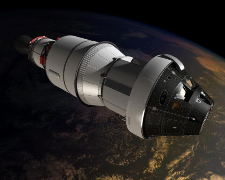 NASA's Orion soon-to-be manned spacecraft.