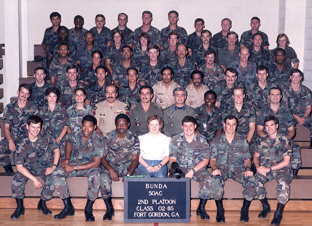 Signal Officers Advanced Course, 1985.